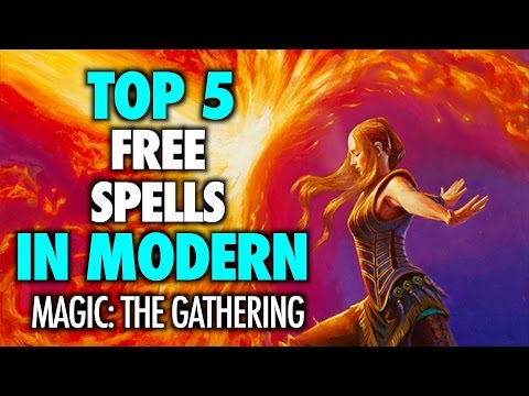 MTG - The Top 5 FREE and alternative cost Spells in Modern for Magic: The Gathering