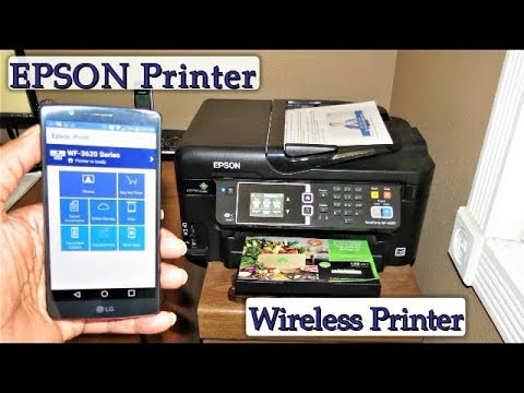 Learn How To Print From Your Cell Phone & Tablet - Wireless Photo Printing - Epson