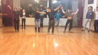 Enrique Iglesias - Turn the night up :: HipHop Group Dance