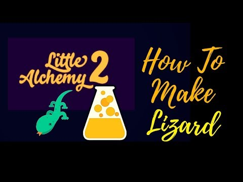 Little Alchemy 2-How To Make Lizard Cheats & Hints