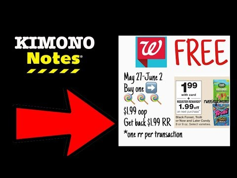 Kimono Notes: Walgreens May 27