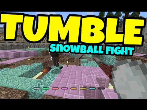 Minecraft: Xbox One Edition - Snowball to the Brain!!! [Tumble]