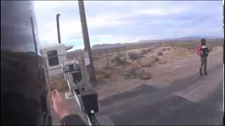 AREA 51 BACK GATE DANGER! CROSSING THE LINE OF DEATH! HERE