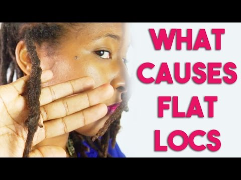 Causes of Flat Locs