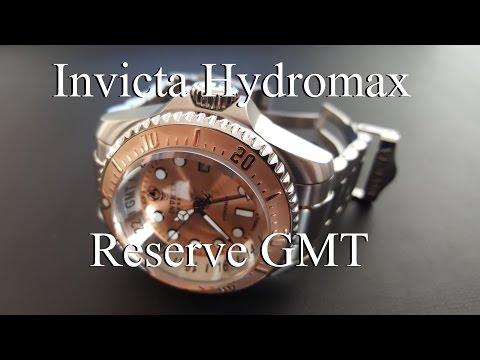 Invicta Hydromax Pro Diver Reserve GMT