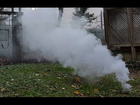 How to make a simple, non-toxic Smoke Mixture