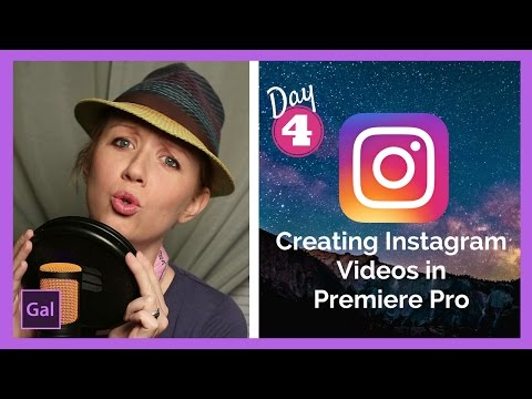 How to setup, create & export HD Instagram Videos in Premiere Pro CC