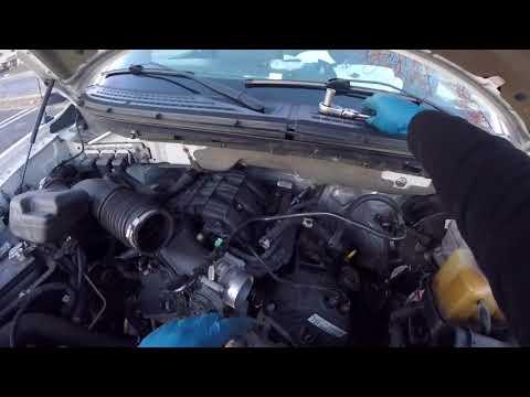 2013 Ford F-150/Ford Mustang 3.7L serpentine belt change : Philadelphia