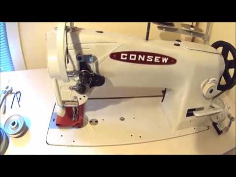 The cheap way to slow down an industrial sewing machine that nobody talks about!