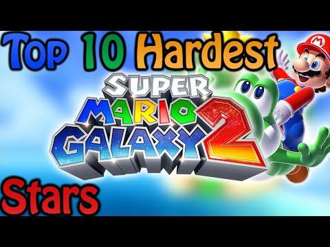 Top 10 Hardest Super Mario Galaxy 2 Stars