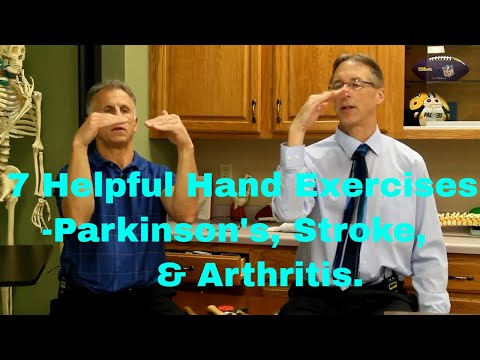 7 Helpful Hand Exercises for Parkinson's Etc. Improve Handwriting, Flexibility, & Dexterity.