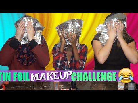 New Makeup Tinfoil Challenge