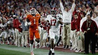 "2017 National Championship Hype Video Clemson VS Alabama   ""Rematch""   HD"