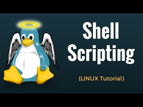 Shell Scripting - Linux Tutorial #15