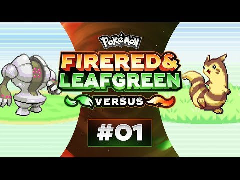 Pokemon Fire Red and Leaf Green Versus - EP01 | The Most RIDICULOUS Start!