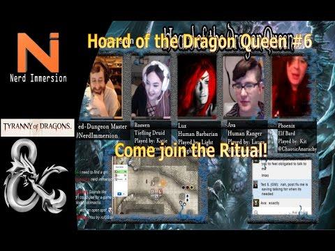 D&D 5e | Hoard of the Dragon Queen #6! | Nerd Immersion