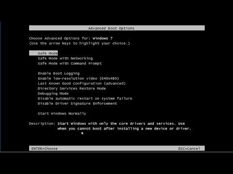 Hiển thị Repair Your Computer trong Advanced Boot Options trên Windows 7