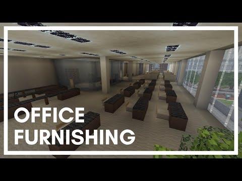 Office Furnishing Ideas & Designs (Minecraft Xbox)