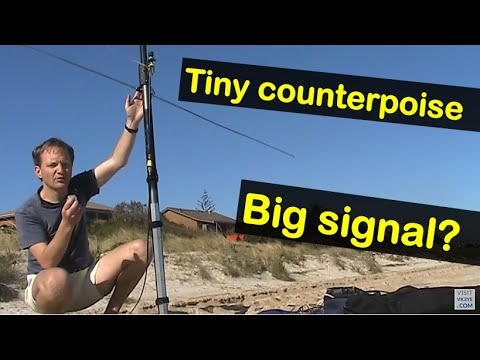 Do small tuned counterpoises work with HF vertical antennas?
