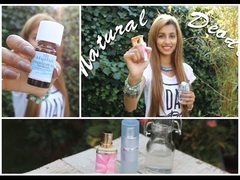 DIY: Easy & Natural Deodorant Spray | Without Baking Soda