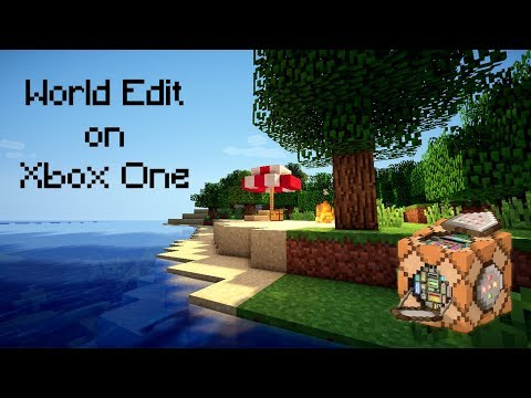 WORLD EDIT ON MINCRAFT XBOX ONE!!!