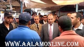 #x202b;عامل اقليم بركان في زيارة خاصة لسوق فرياض وسوق بوهديلة#x202c;lrm;