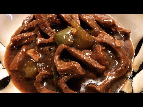 Instant Pot Black Pepper Beef