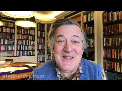 Stephen Fry Announcement