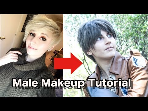 Male Cosplay Makeup Tutorial