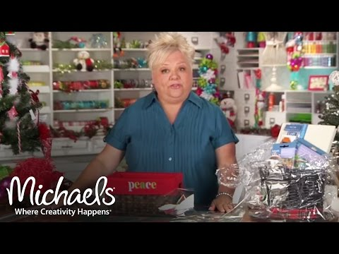 Gift Baskets | DIY Holiday | Michaels