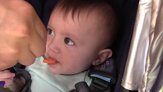 SOUR BABY FACES ♫ / Smashing POWER WHEELS Car / Field Day Games w/ Family (FUNnel Vision Vlog)