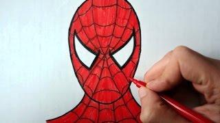 How to draw Spiderman (Ehedov Elnur) Как рисовать Человека паука_Orumcek adam ____cómo dibujar spiderman_如何繪製蜘蛛俠_Wie zeichnet man Spider-Man_  Music 1)Silent Partner- Stomping Grounds 2)Silent Partner-DC-Love-Go-Go