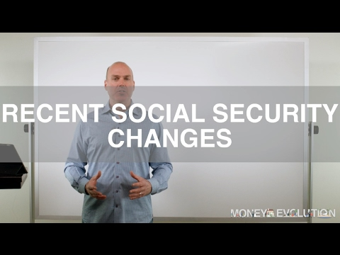 Recent Social Security Changes