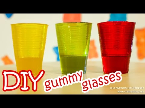 How To Make Gummy Glasses - DIY Edible Glasses Made From Delicious Gummy