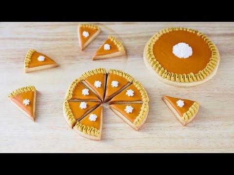 Pumpkin Pie Cookies Easy Tutorial!