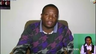 Zimbabwe youth leader apologises to military on state TV