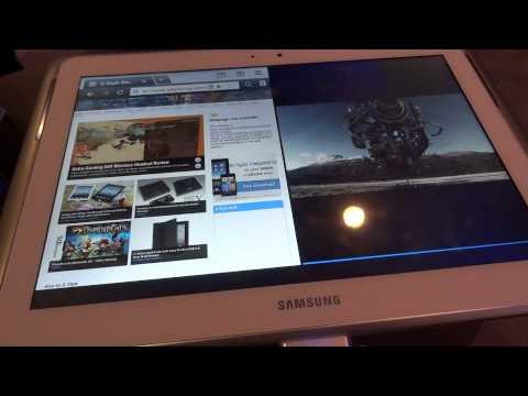 Samsung Galaxy Note 10.1 Multi Screen