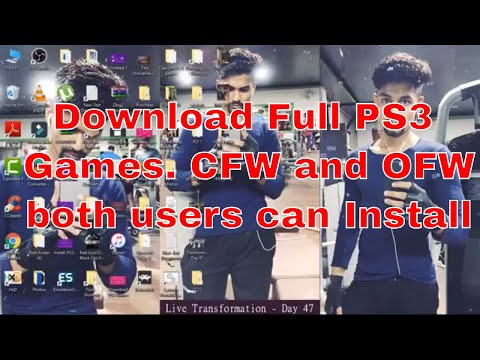 How to download full PS3 games for free - CFW and OFW 4.81