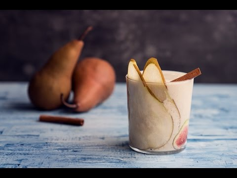 Spiced Pear Vanilla Smoothie | Slenderberry
