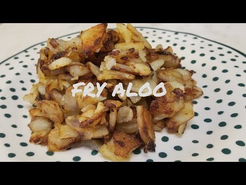 Trinidad Fried Aloo / Fried Potato - Episode 35