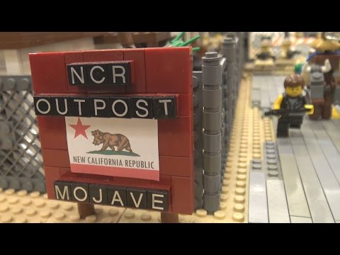 LEGO Fallout: New Vegas Mojave NCR Outpost | World War Brick 2017