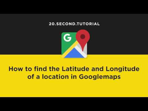 Find Latitude and Longitude in Googlemaps   Google Maps Tutorial #20
