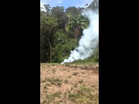 Illegal Peanut Butter Smoke Bomb