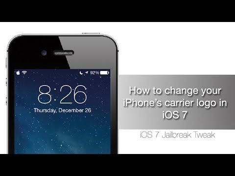 How to change iPhone Carrier Logo in iOS 7 with Zeppelin - iPhone Hacks