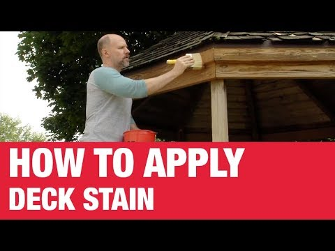 How To Apply Deck Stain - Ace Hardware