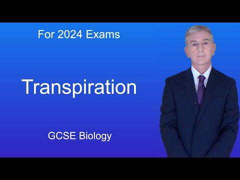 GCSE Science Biology (9-1) Transpiration