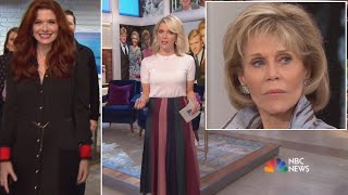 Jane Fonda is Megyn Kelly