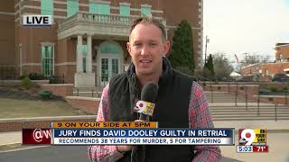 Jury finds David Dooley guilty in retrial