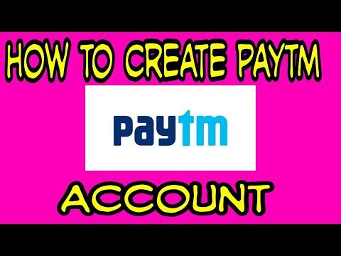 new paytm account create