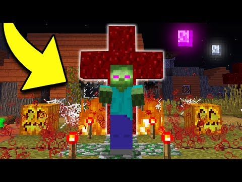 How to CURSE A ZOMBIE in Minecraft! (Pocket Edition, Xbox, PC)